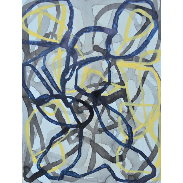 """Image of Liz Leventhal """"Lyric 5"""" Abstract Painting"""