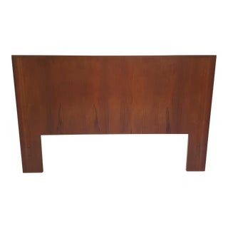 Mid-Century Modern Full Headboard in Teak