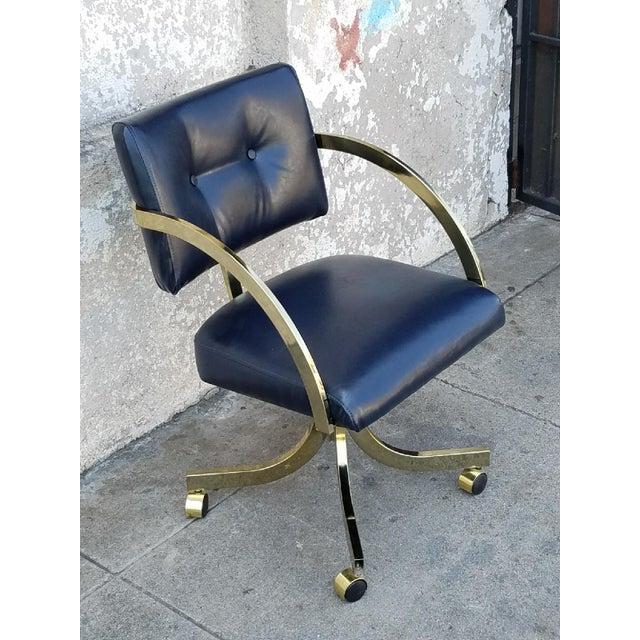 Vintage Milo Baughman Office Chair - Image 5 of 5