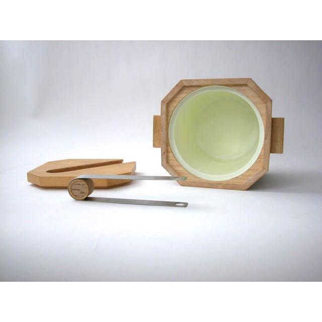 Georges Briard Wood & Cork Ice Bucket - Image 7 of 9