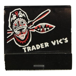 Trader Vic's at the Plaza Hotel Matchbook