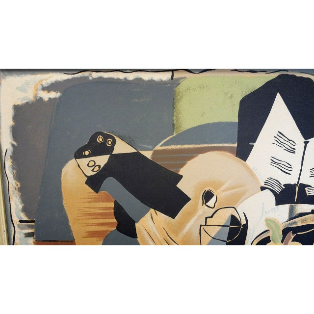 """Image of Georges Braque """"Still Life:The Table"""" Lithograph"""