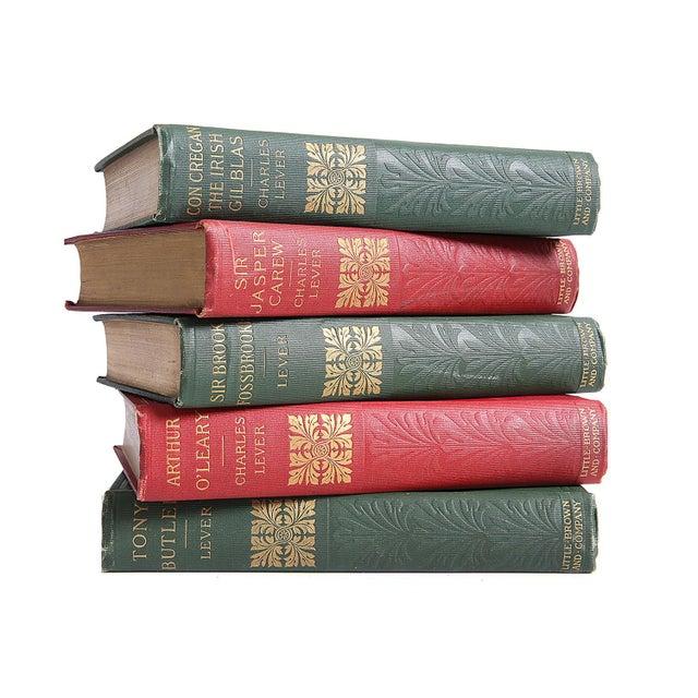 Turn of Century Novels: Charles Lever - Set of 5 - Image 1 of 2