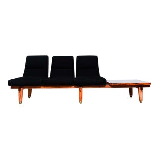 Mid Century Modern Sofa & Table Bench