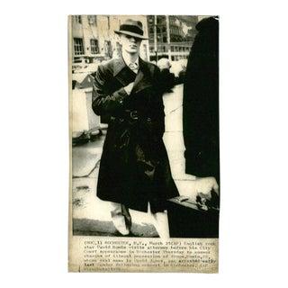 Vintage David Bowie Photograph, 1970's