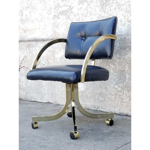 Vintage Milo Baughman Office Chair - Image 4 of 5
