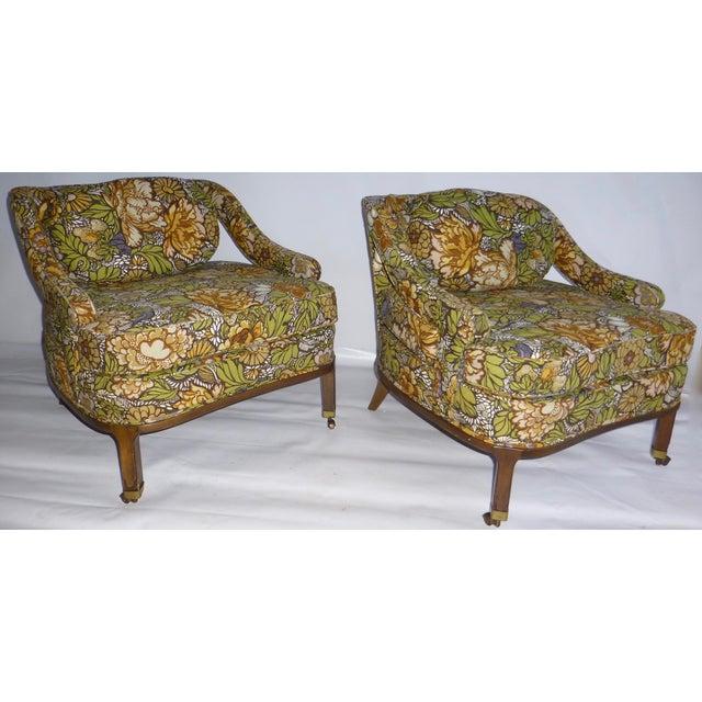 Mid Century Modern Club Chair - Pair - Image 3 of 10