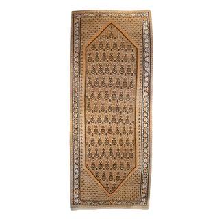 Early 20th Century Kurdish Senneh Carpet Runner - 4′3″ × 11′