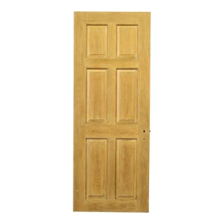 Six Panel Wooden Door