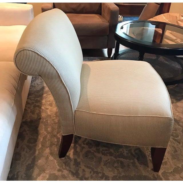 Ethan Allen Slipper Chair - Image 3 of 7