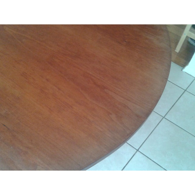 Thos Moser Round Dining Table - Image 6 of 10