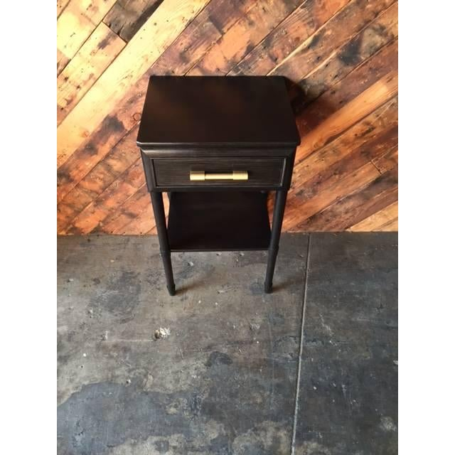 Raymond Loewy Vintage Brown Side Table - Image 3 of 5