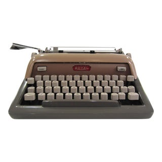 Mid-Century Royal Futura 800 Typewriter