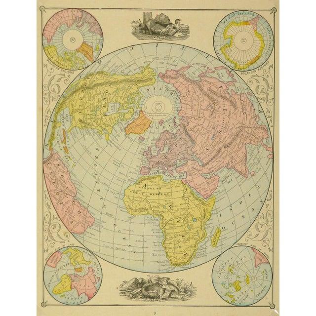 World Map, 1890 - Image 3 of 3