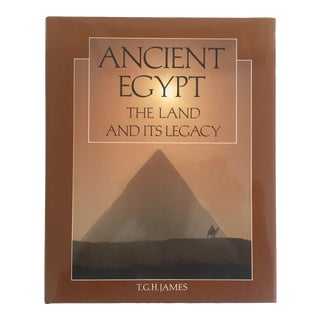 """"""" Ancient Egypt the Land & Its Legacy """" Vintage 1990 Cultural Arts Hardcover Book"""