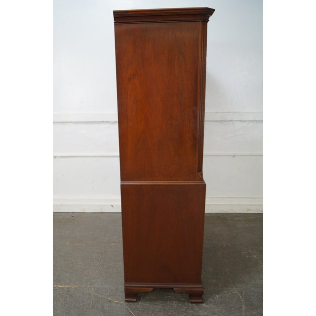 Baker Mahogany Chippendale Style Dresser - Image 3 of 10