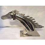 Image of Racing Silver Horse