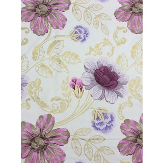 "Designers Guild ""Amalienborg"" Floral & Gold Fabric - 3 Yards"