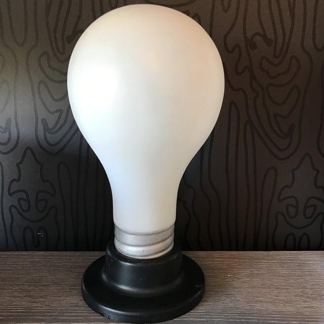 Image of Vintage Lightbulb Table Lamp