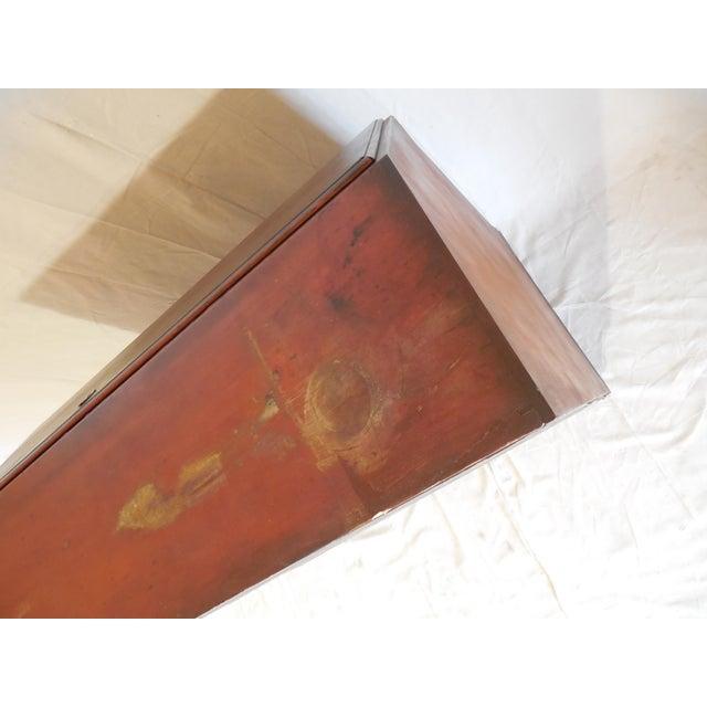 Signed Pennsylvania 1836 Cherry Slant Front Desk - Image 7 of 11
