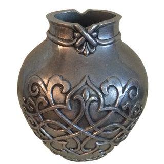 Metal Alloy Vase
