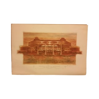 """The Great Workhouse"" Frank Lloyd Wright Print"