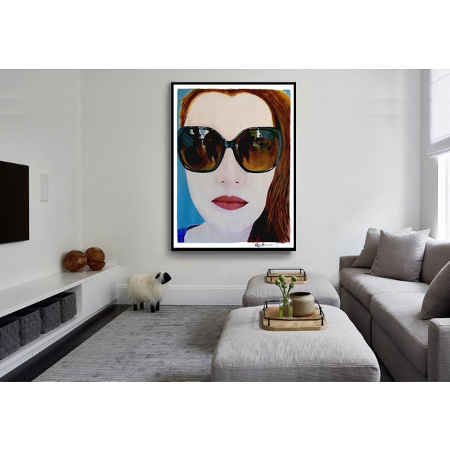 Portrait of a Girl With Sunglasses - Image 10 of 11