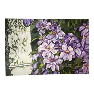'Newton's Vine' Floral Painting