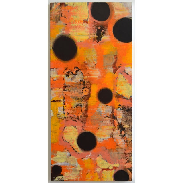 Abstract Painting - Orange - Image 5 of 5