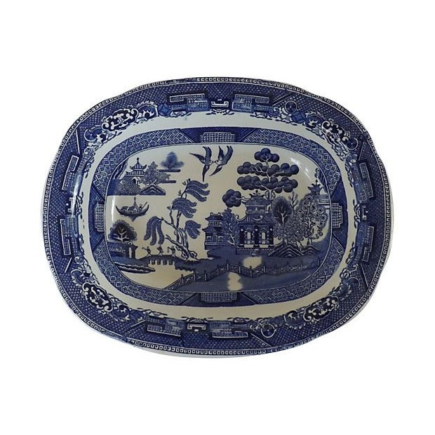 Image of Small English Willow Platter