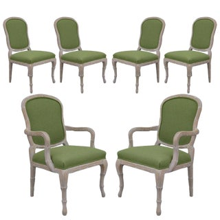 1980s Louis XV Style Dining Chairs - Set Of 4