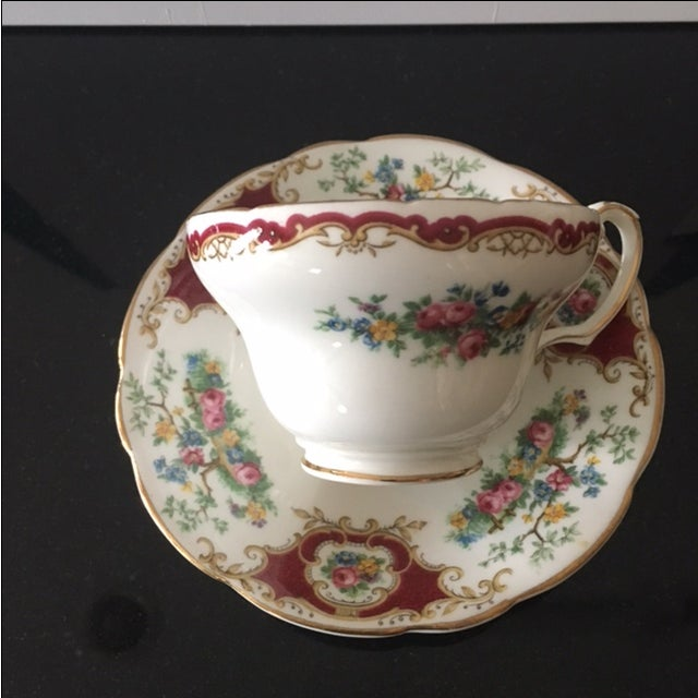 Foley China Tea Cup and Saucer - Image 5 of 6