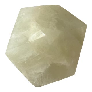 Faceted Onyx Paperweight