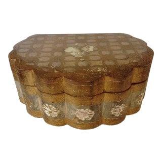 Scalloped Shell Florentine Box