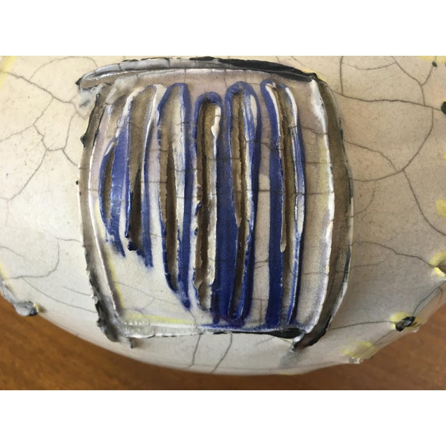 Abstract Studio Pottery Vase - Image 6 of 11