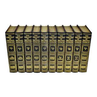 1919 Oliver J Thatcher Library Of Original Sources Edition De Luxe - Complete 10 Volume Set