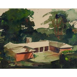 2 Paintings in 1 Architectural Studies