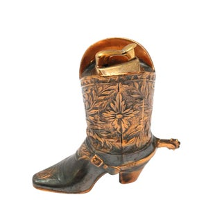 Vintage Cowboy Boot Lighter