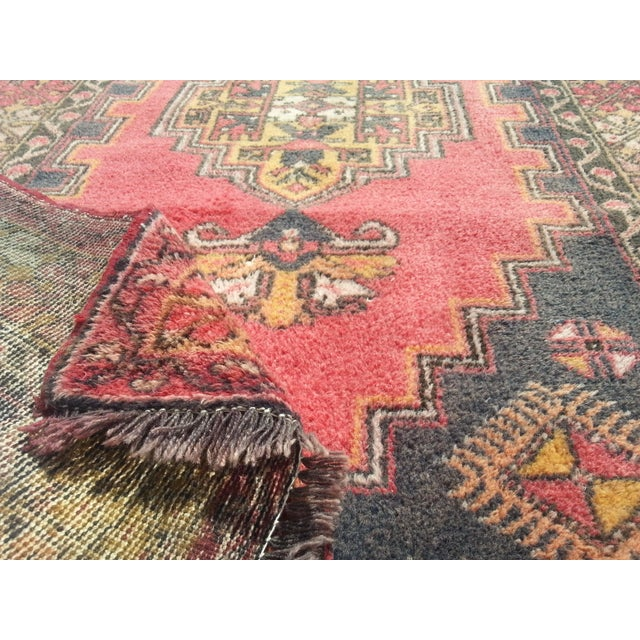 Image of Turkish Oushak Rug - 3′7″ × 7′