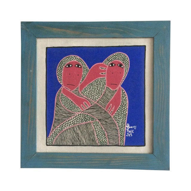 Framed Painting by Levoy Exil - Image 1 of 8
