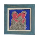 Image of Framed Painting by Levoy Exil