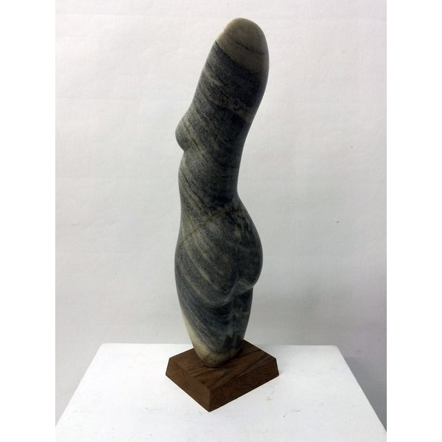 Vintage Female Nude Marble Sculpture by John Cody - Image 4 of 7