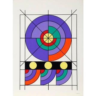 "1971 Edival Ramosa ""Sin Titulo"" Print"