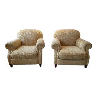 Baker Club Chairs - A Pair