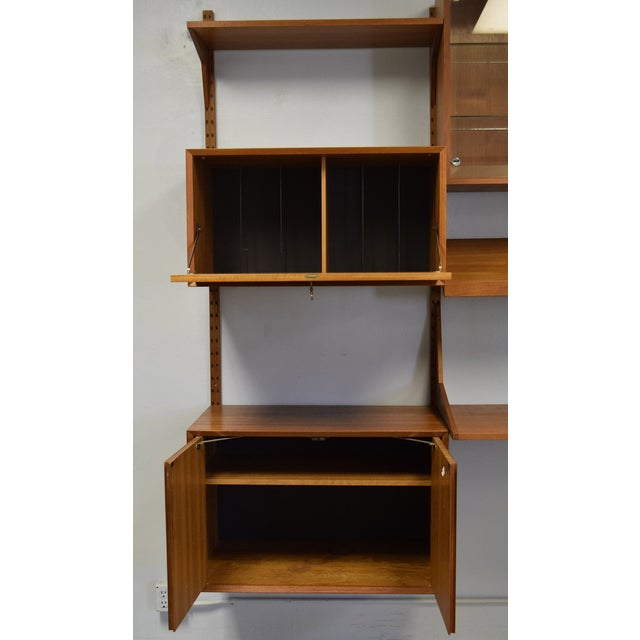 Mid-Century Modern Adjustable Wall Unit - Image 6 of 10