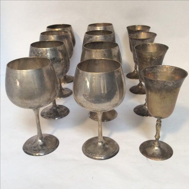 Vintage Silverplate Goblets - Set of 12 - Image 10 of 10