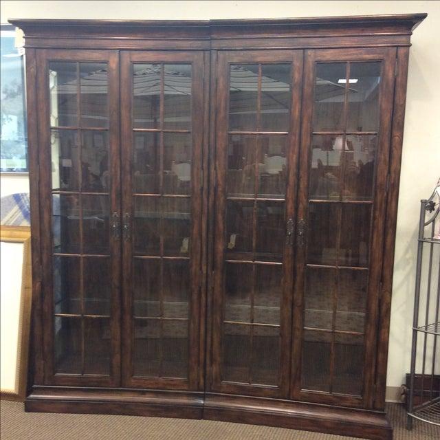 Four Door Glass Curio Cabinet - Image 2 of 7