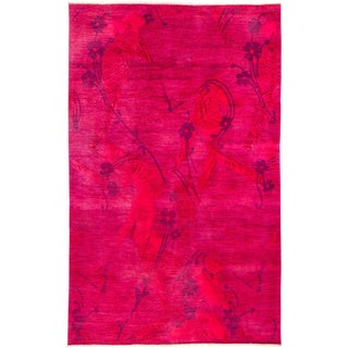 """Vibrance Hand Knotted Area Rug - 6'1"""" X 9'6"""""""