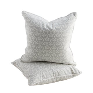 Serena & Lily Small Throw Pillows - a Pair