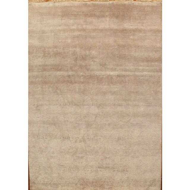 Tabriz Traditional Hand-Knotted Rug - 6'x9' - Image 2 of 2